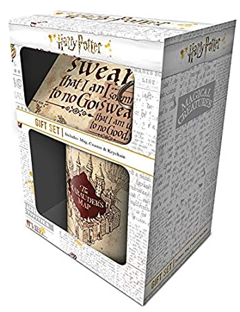 Amazon.com: Caja de regalo de Harry Potter Marauders mapa ...