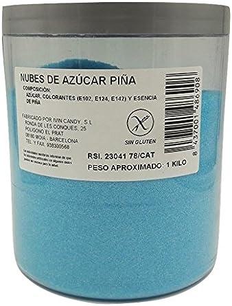 Algodón Nubes de Azúcar Piña 1 Kg: Amazon.es: Alimentación y bebidas