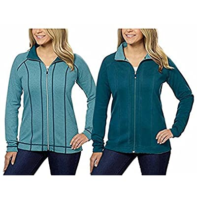 Hot Kirkland Signature Ladies Reversible Full Zip Jacket free shipping