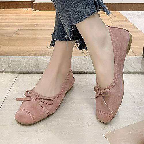 Sandales Plates Femme Elastque Chaussure Doux Semelle Ballerines Bas DOLODA Baskets Mode Femme Rouleau doeufs Chaussures de Plage Pois Chaussures