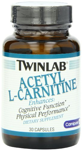 Twinlab Acetyl L-Carnitine 500mg, 30 Capsules