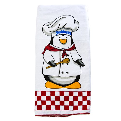 Chef Penguin - Penguin Chef Dish Towel