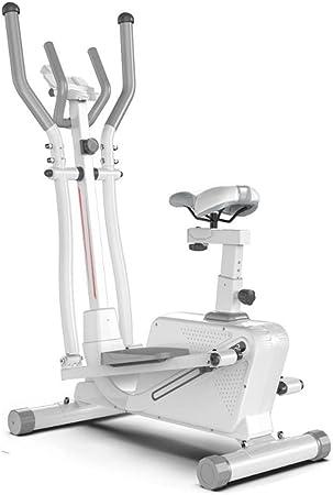Elíptica Bicicleta Elíptica Máquina estándar de zancada elíptica ejercicio Bicicleta elíptica for la aptitud acondicionamiento de la fuerza entrenamiento en casa o en el gimnasio for habitaciones pequ: Amazon.es: Hogar