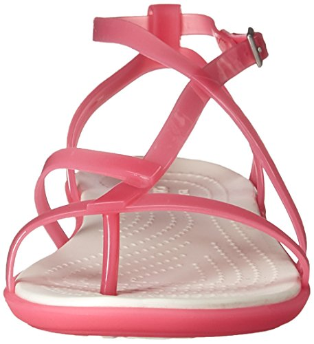 oyster Gladiator Pink Crocs Sandal Isabella Pink Paradise aqUBSzw