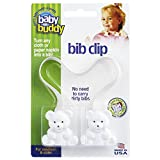 Baby Buddy Bib Clip, White: more info