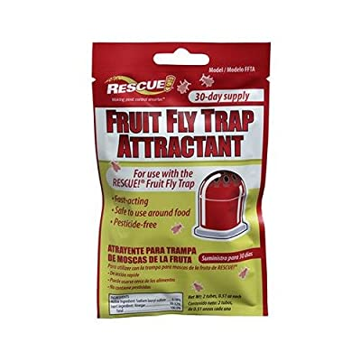 Rescue Fruit Fly Trap Attractant