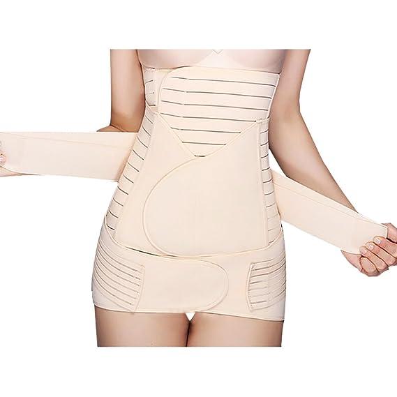 3 in 1 Recovery Belly Waist Pelvis Belt Weight Loss Trainer Cincher Belt Body Shaper Postnatal Shapewear Women Maternity Vidillo Postpartum Waist Support Belt Women Belly Band
