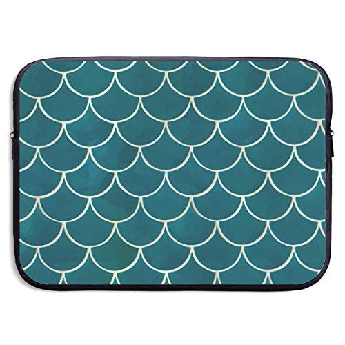 CHJOO Laptop Sleeve Bag Fish Scale Seamless Graphics 13/15 I