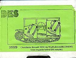 Des kit 1:35 WWII Chenillette Renault UE 28/32 cm Wurfrahman(sf) 1941/45 #35029 from Des kit