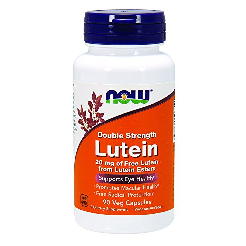 NOW Lutein 20 Veg Capsules