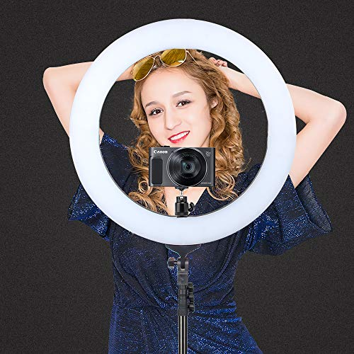 ZOMEi 18'' Dimmable LED Ring Light for Makeup Selfie Photographic Ring Light by ZOMEi (Image #2)
