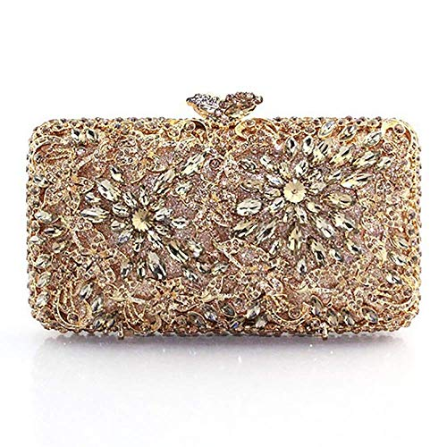 Clutch Clutch Models Color Evening Luxury Diamond Bag Wild Bag Clutch Purse Women's Bags Gold Bagood Fashion TpSxq4C