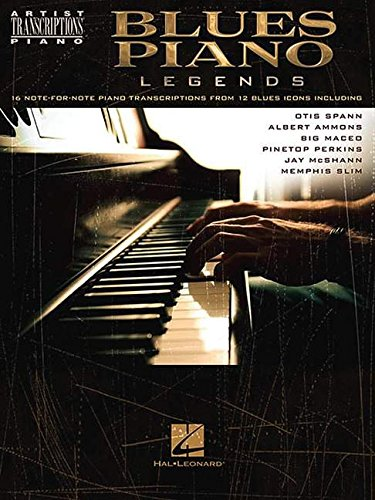 Boogie Music Book (Blues Piano Legends (Artist Transcriptions: Piano))
