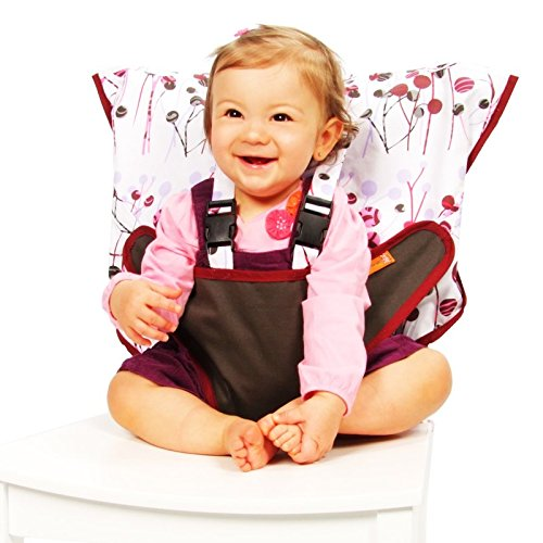 My Little Seat Travel Highchair Pocket Full of Posies