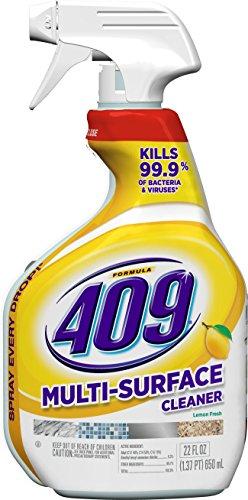 Formula 409 All Purpose Cleaner Spray Bottle, Lemon, 22 Fluid Ounces