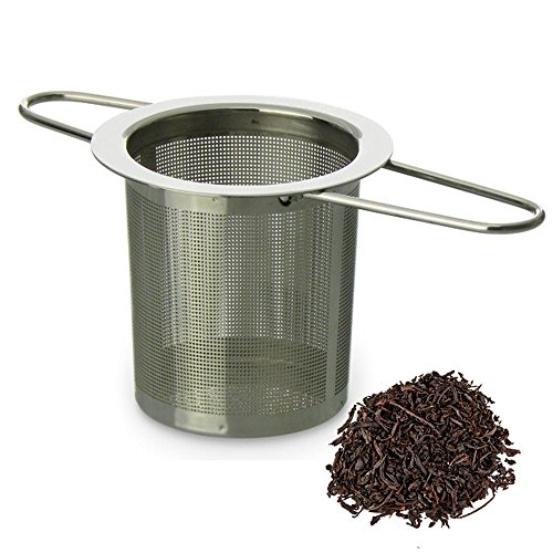 Schefs Premium Tea Infuser - Stainless Steel - Tea Filter - Perfect Strainer for Loose Leaf Tea by Schefs (Image #3)