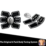 (US) Transform 6 Pack Body Sculpting Set. Pro Body Sculpting Set with multiple mode settings. Comes with 1 Ab Trainer and 2 Arm Belts.