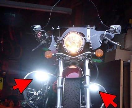 Amazon.com: Kawasaki Vulcan 900 VN900 Xenon Driving Lights ... on
