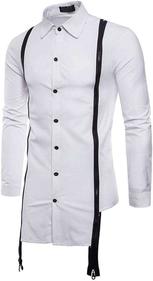 Camisas Casual Hombre Manga Larga, Covermason Blusa Delgada de ...