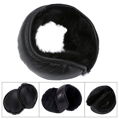 Winter Earmuffs Ear Warmers Earflap Adjustabe Wrap around Outdoor Foldable New