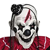 Halloween Clown Mask - HUPLUE Scary Clown Head Face Mask for Costume Party Prop