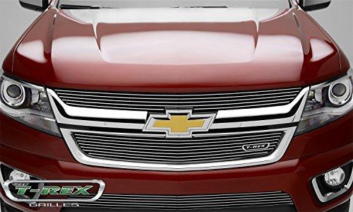 (T-Rex Grilles 21267 Polished Billet Grille for Chevrolet Colorado)