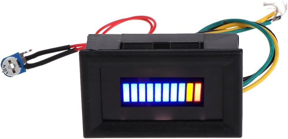 Universal Auto Motorrad Kraftstoff Füllstand Messgerät Anzeige LED Licht