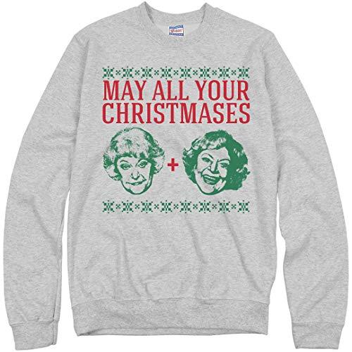 10 Cotton Crewneck Sweatshirt Oz - Christmases Bea White: Unisex Ultimate Crewneck Sweatshirt