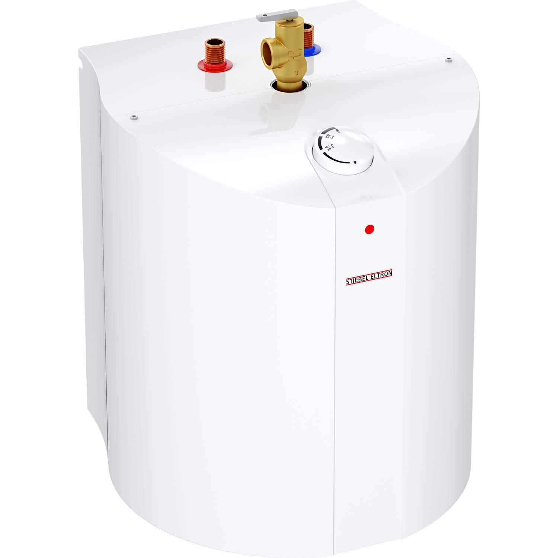 "Stiebel Eltron 235089 SHC 6 Mini-Tank Electric Water Heater, 6 Gallon, 1300W, 120V, 15-1/8"" W x 20-1/2"" H x 15"" D"