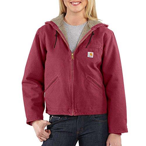 Carhartt Women's Sandstone Sierra Jacket, Raspberry, XL by Carhartt