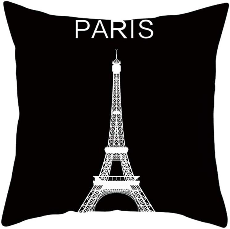 iYBUIA Modern Room Decoration Print Pillowcase Linen Cotton Sofa Cushion Cover Home Decor