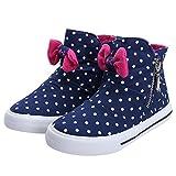 Alexis Leroy Kids' Shoes Girls'High-top Zipper