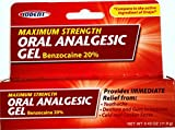 Oral Analgesic Gel Maximum Strength 20% Benzocaine .42oz