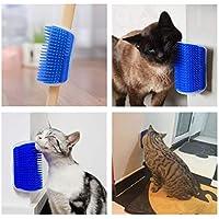 Pet Cat Comb Brush Massage Device Self Groomer Pet Dog Cat Hair Removal Brush Comb Pet Cat Toys