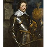 Oil painting 'Dyck Anton van Federico Enrique de Nassau principe de Orange 1631 32 ' printing on high quality polyster Canvas , 10 x 12 inch / 25 x 30 cm ,the best Hallway artwork and Home artwork and Gifts is this High Definition Art Decorative Canvas Prints