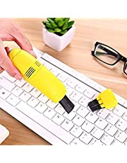 جراسيزينج مصغرة مكنسة سطح المكتب فرشاة مصغرة USB مكنسة كهربائية لوحة مفاتيح كمبيوتر مكنسة كهربائية جامع للغبار قابس الطاقة USB وتشغيل كابل 120 سم ABS مكونات إلكترونية تنظيف الغبار OA