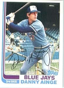 1982 Topps 125 Danny Ainge Toronto Blue Jays Baseball