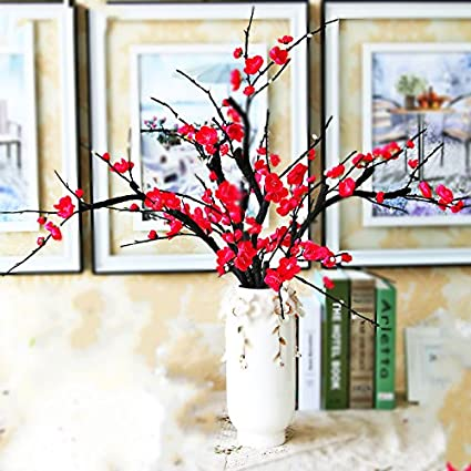 Buy imported and new artificial flowers plum flower artificial imported and new artificial flowers plum flower artificial plants tree branch silk flowers for home decoration mightylinksfo