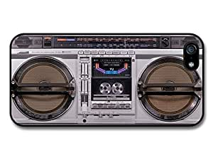 Boom Box Retro Vintage Stereo Hipster cool Look Case For Sam Sung Galaxy S4 I9500 Cover
