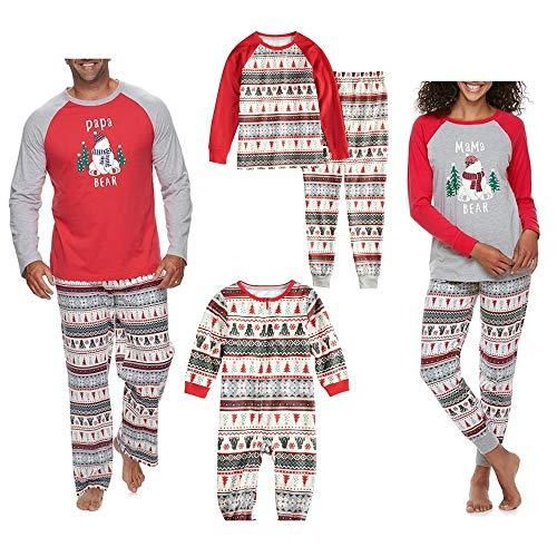 Conjunto de Pijamas a Juego Familiar de Navidad Navideño