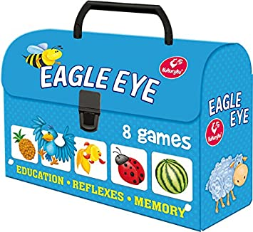 Kukuryku Board Game Eagle Eye Chest (White)