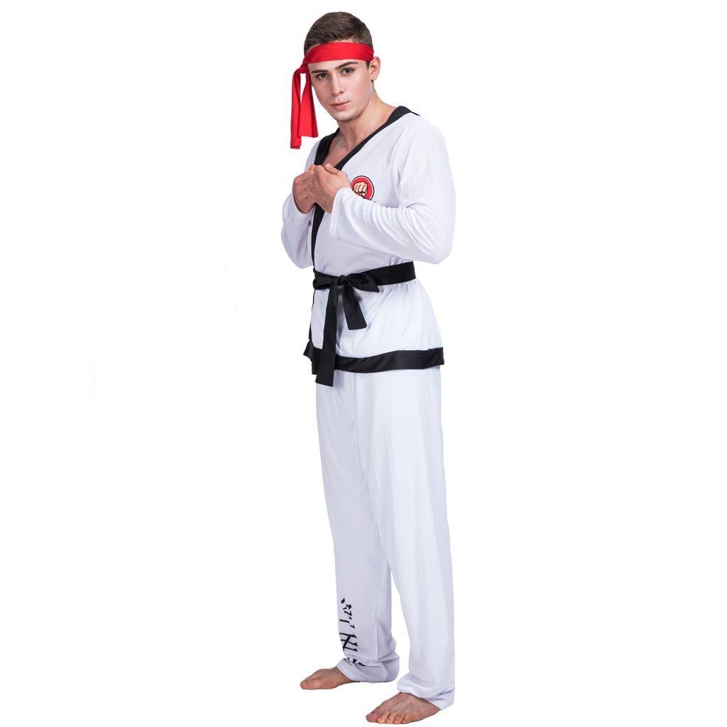 EraSpooky Traje de Karate de combatiente de Kung fu para ...