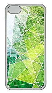 iPhone 5c Cases Unique Cool PC Transparent Cases Personalized Design Multicolor Marble