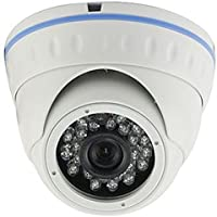 Defender Vandalproof IP IR Outdoor Dome Camera LIRDN48S200 Built-in POE 2.4 MP Main Stream: 1080P/720P@30fps; 3MP HD Lens, With IR-CUT