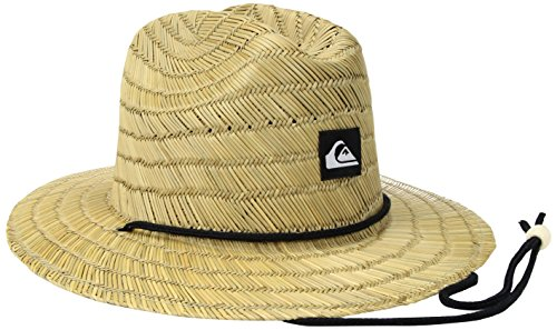Quiksilver Men's Pierside Slim Straw Hat, Natural, L/XL