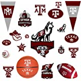 RoomMates RMK1224SCS Texas A & M University Peel & Stick Wall Decals