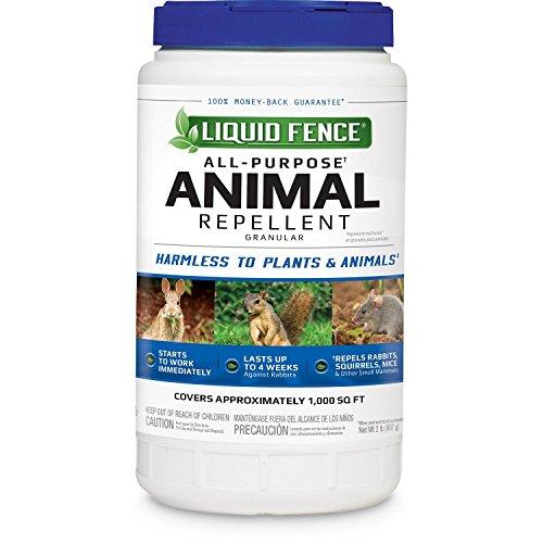 Liquid Fence All-Purpose Animal Repellent Granular, 2-Pound
