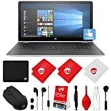 HP Pavilion 15.6'' FHD IPS Multi-Touch Screen x360 Convertible Laptop with Mouse Kit, Stereo Earbuds and Cleaning Kit (Intel Core i3-7100U 7th Gen, 1TB, 8GB, Intel Graphics 620, 3-Cell Battery, Win 10)