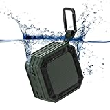 MixcMax Bluetooth Speaker iPX7 Waterproof Outdoor Portable Bluetooth Speaker Wireless Mini Loud Bluetooth Motorcycle Speaker Lightweight, 20-Hour Playtime, HD Sound, Water Resistant for Party, Beach Shower, Climbing, Hiking, Cycling