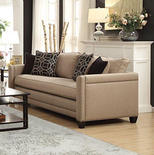 1PerfectChoice Pratten Decorative Nailhead Trim Sofa Couch
